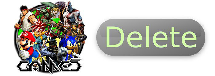 games-delete