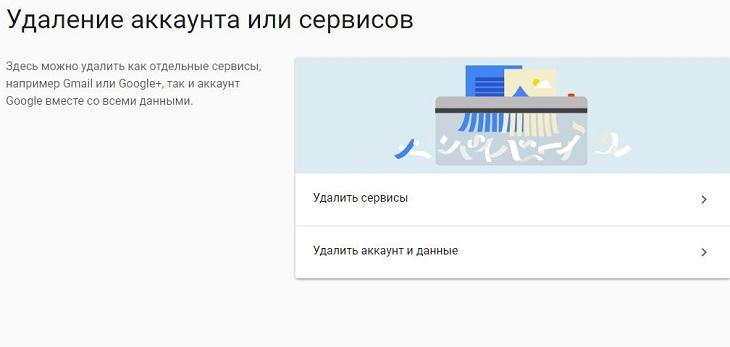 Удаление gmail с компьютера