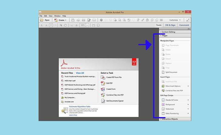 Функции Adobe Acrobat
