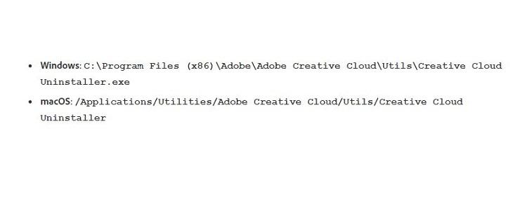 Как удалить Adobe Creative Cloud в фоновом режиме