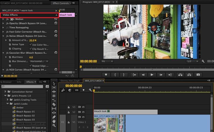 Работа с видео в Adobe Premiere