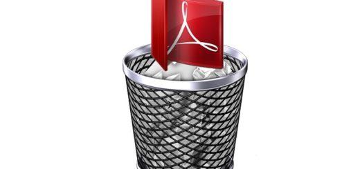 Как удалить Adobe Reader