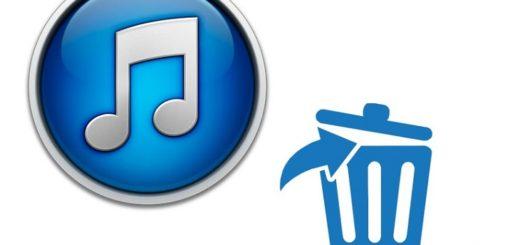 Как удалить копию iTunes