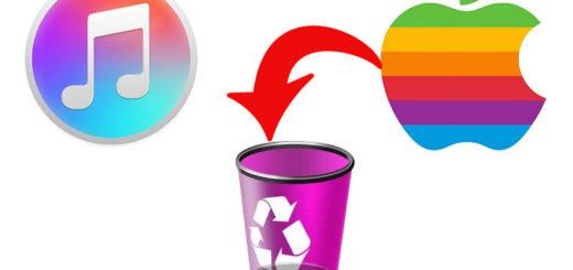 Как удалить музыку через iTunes
