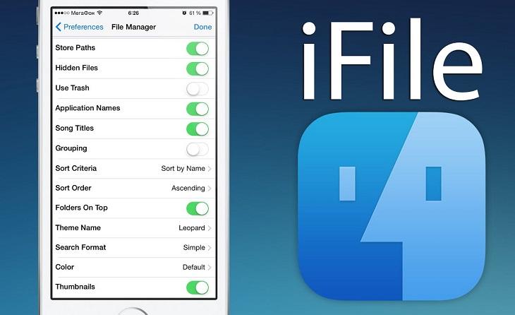 Удаление рингтона через iFile