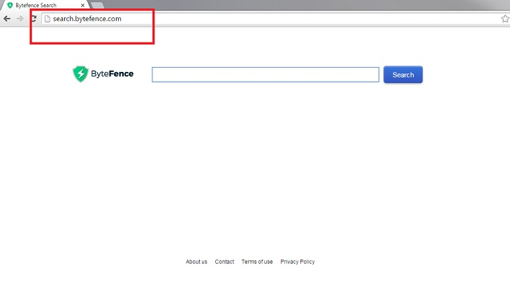Перенаправление запросов на search.bytefence.com