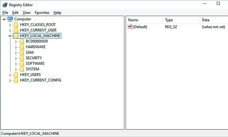 Поиск остаточных файлов в реестре