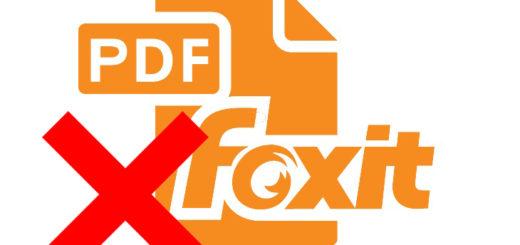Как удалить Foxit reader