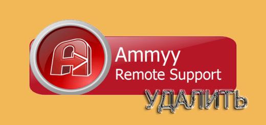 Как удалить Ammyy