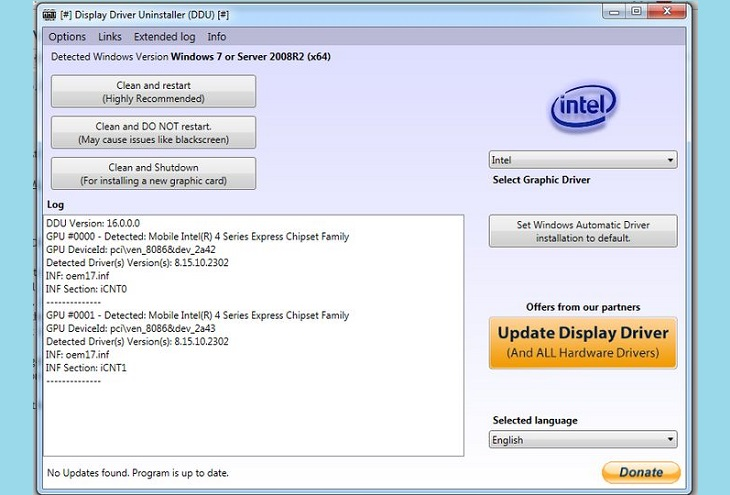 Display Driver Uninstaller (DDU) V18.0.0.9 Released