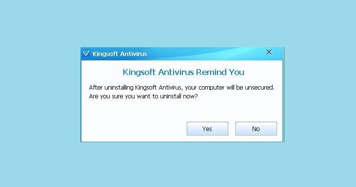 Подтвердить удаление Кингсофт