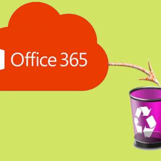 Как удалить Office 365