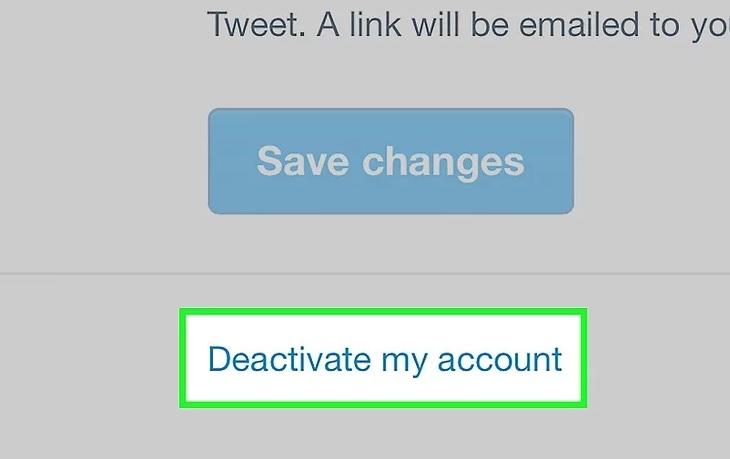 Отключить аккаунт Твиттер с телефона
