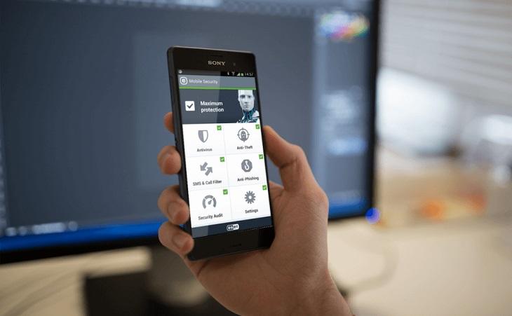 Как работает приложение ESET NOD32 Mobile Security