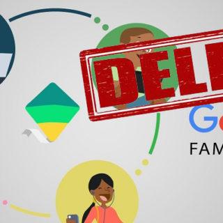 Как удалить Family Link