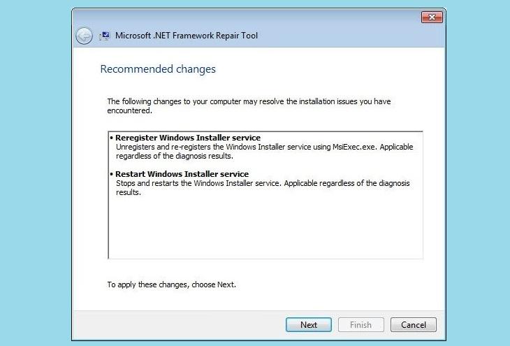.Net – Repair Tool