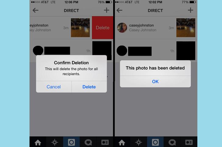 Удаление сообщений Инстаграм на Андроиде