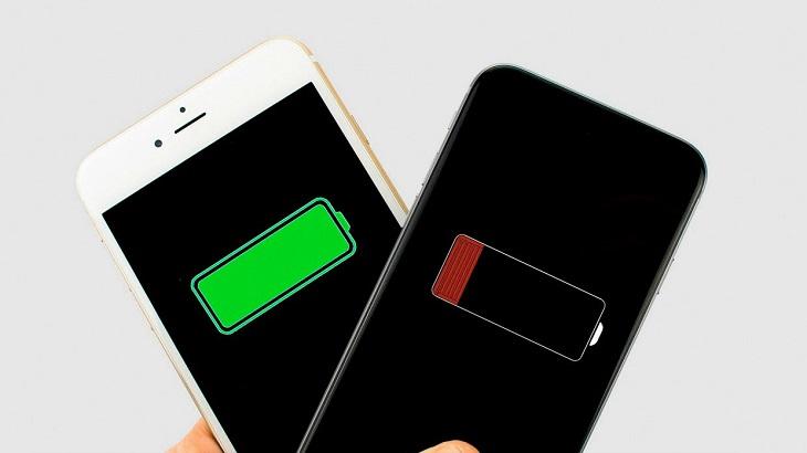 Полный заряд телефона