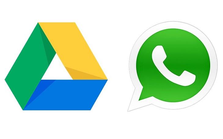 Google Drive и Ватсап