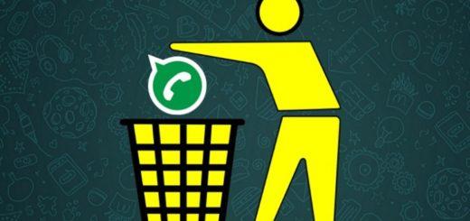Как удалить сообщение из WhatsApp