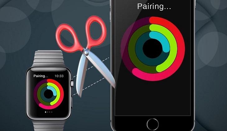 Отвязать пару с Apple Watch