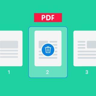 Как в ПДФ удалить страницу