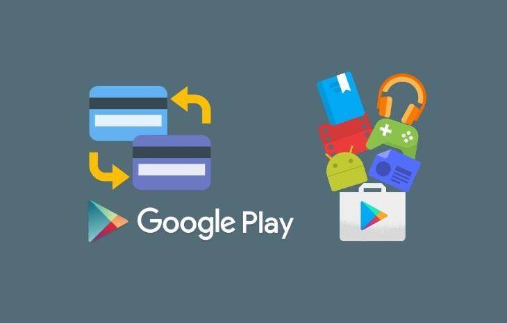 Как удалить карту из Google Play