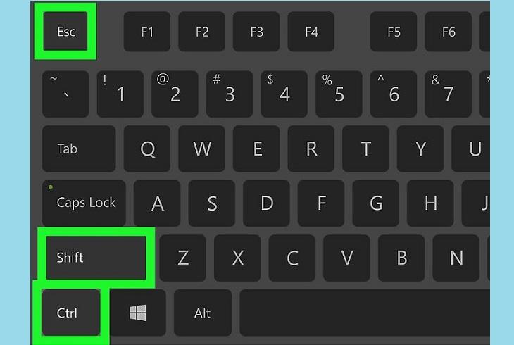 Комбинация клавиш для отключения проводника