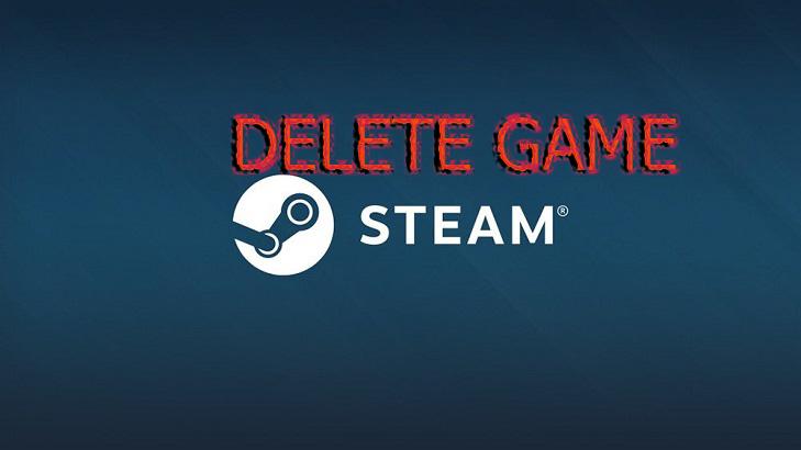 Как удалить библиотеку Steam