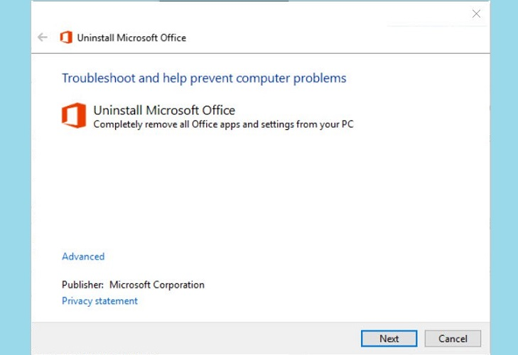 Microsoft Office Suite Removal Tool