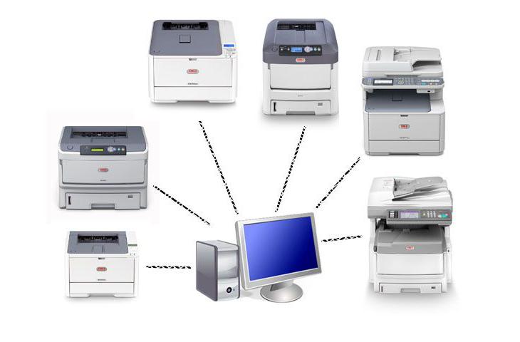 Как удалить драйвер принтера